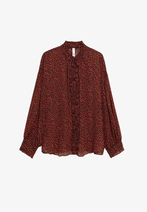GARDEN - Button-down blouse - rood