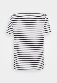 Pieces - PCINGRID - Print T-shirt - bright white/black - 1