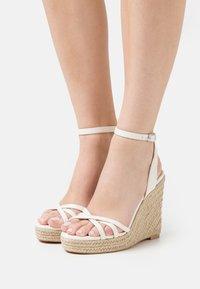 Even&Odd - Platform sandals - white - 0