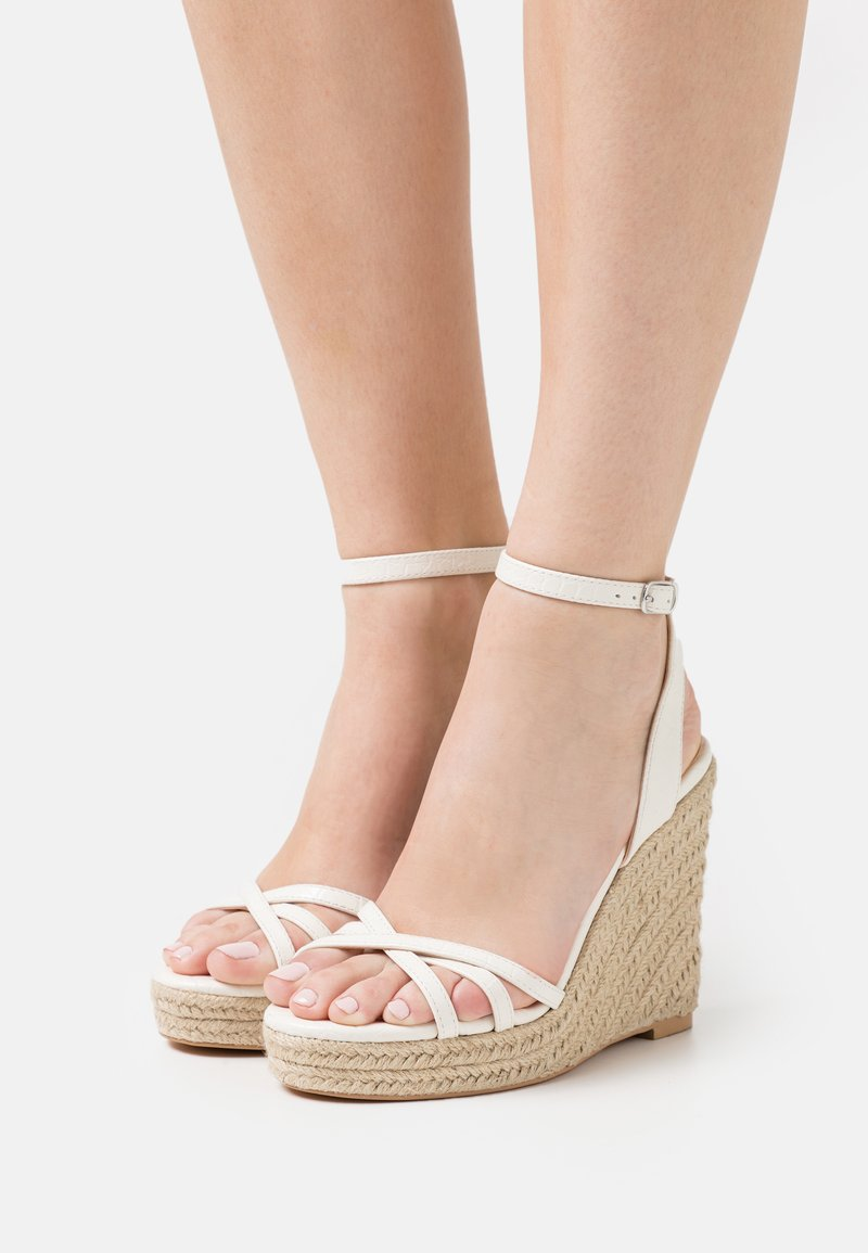 Even&Odd - Platform sandals - white