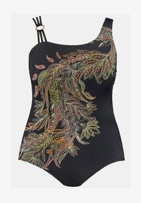 Ulla Popken - FANCY PHOENIX TRIPLE STRAP  - Swimsuit - multi - 1