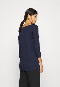 Sisley - Long sleeved top - dark blue - 2