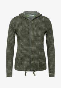 Cecil - Zip-up sweatshirt - olive - 2