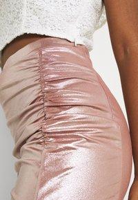 TFNC - JESSIE SKIRT - Pencil skirt - nude - 5