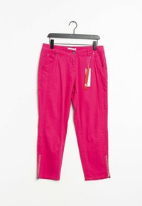 Sheego - Trousers - pink - 0