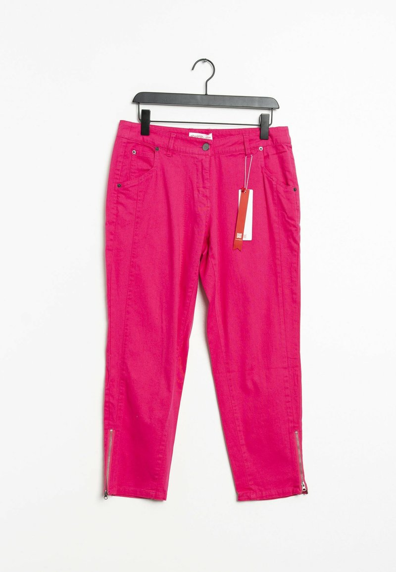 Sheego - Trousers - pink