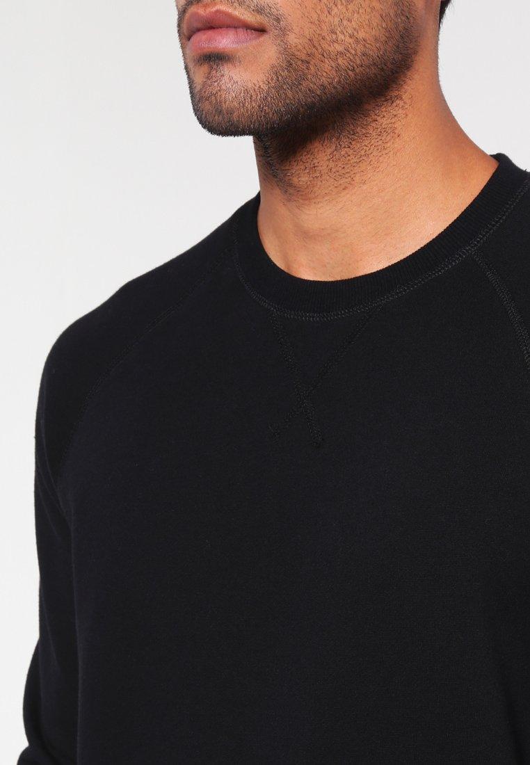 Pier One Sweatshirt - Black/svart