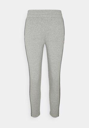 SLIM PANTS - Teplákové kalhoty - mottled grey