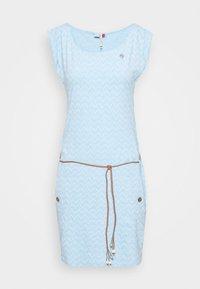 Ragwear - TAG ZIG ZAG - Jerseykleid - blue - 3