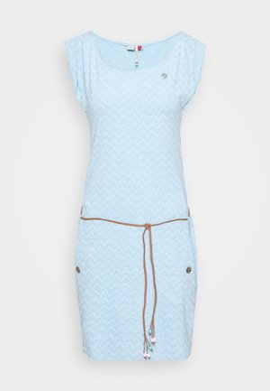 TAG ZIG ZAG - Žerzejové šaty - blue