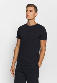 Tommy Hilfiger - SLUB TEE - Basic T-shirt - desert sky - 0