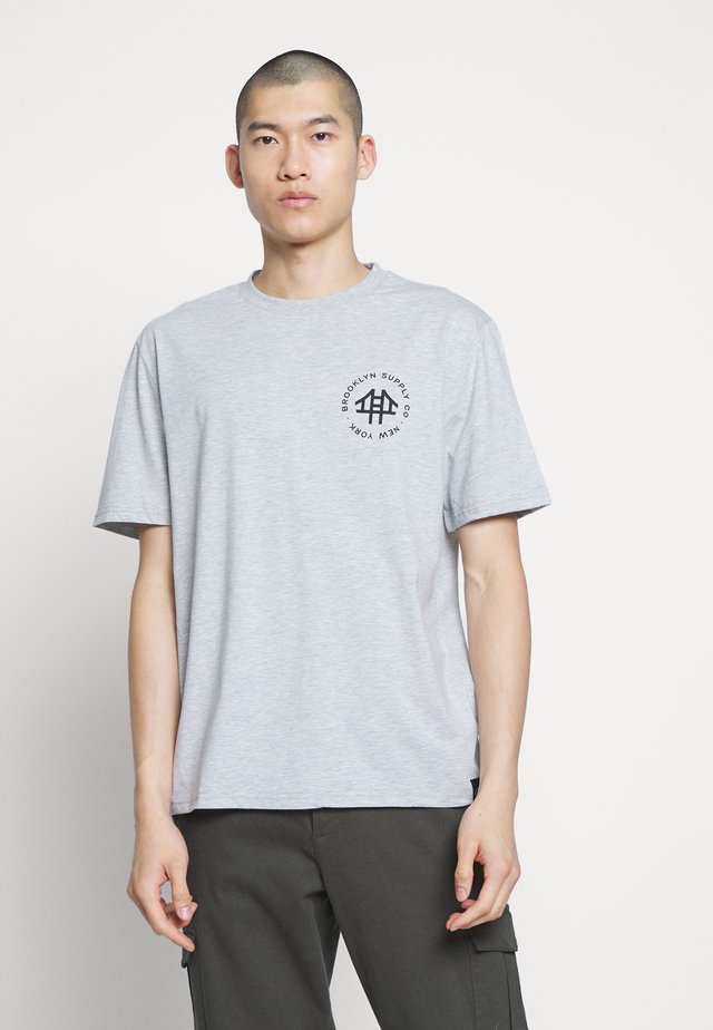 REGULAR LOGO TEE - T-shirt imprimé - light grey