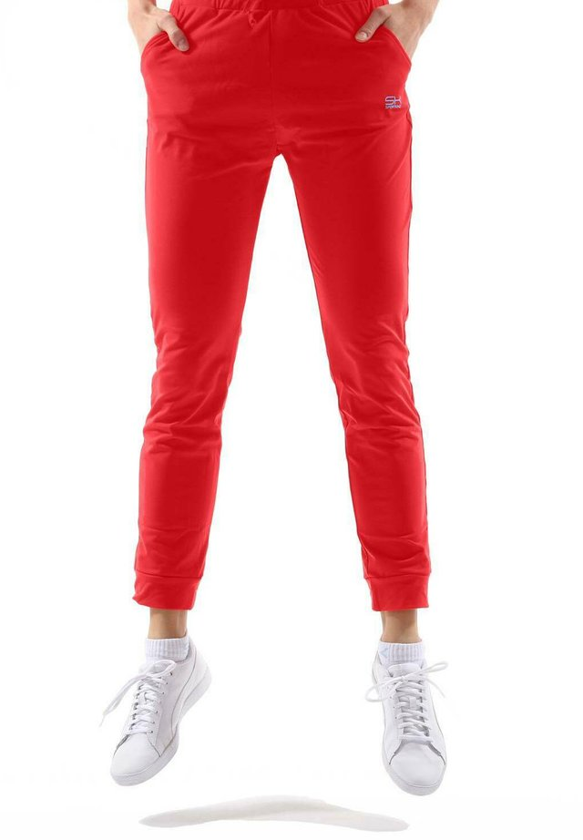 Tracksuit bottoms - rot