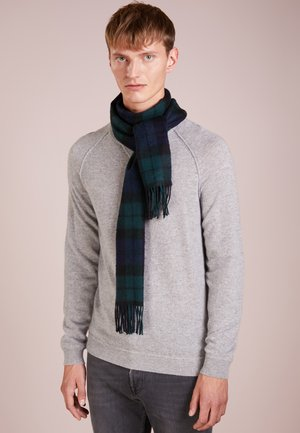 NEW CHECK TARTAN SCARF - Scarf - navy