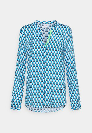 Long sleeved top - azur/turquoise