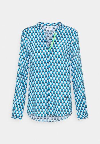 Långärmad tröja - azur/turquoise