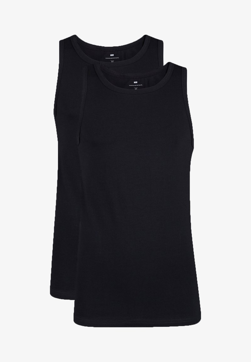 WE Fashion - 2-PACK - Top - black