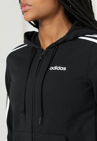 adidas Performance - veste en sweat zippée - black/white - 6
