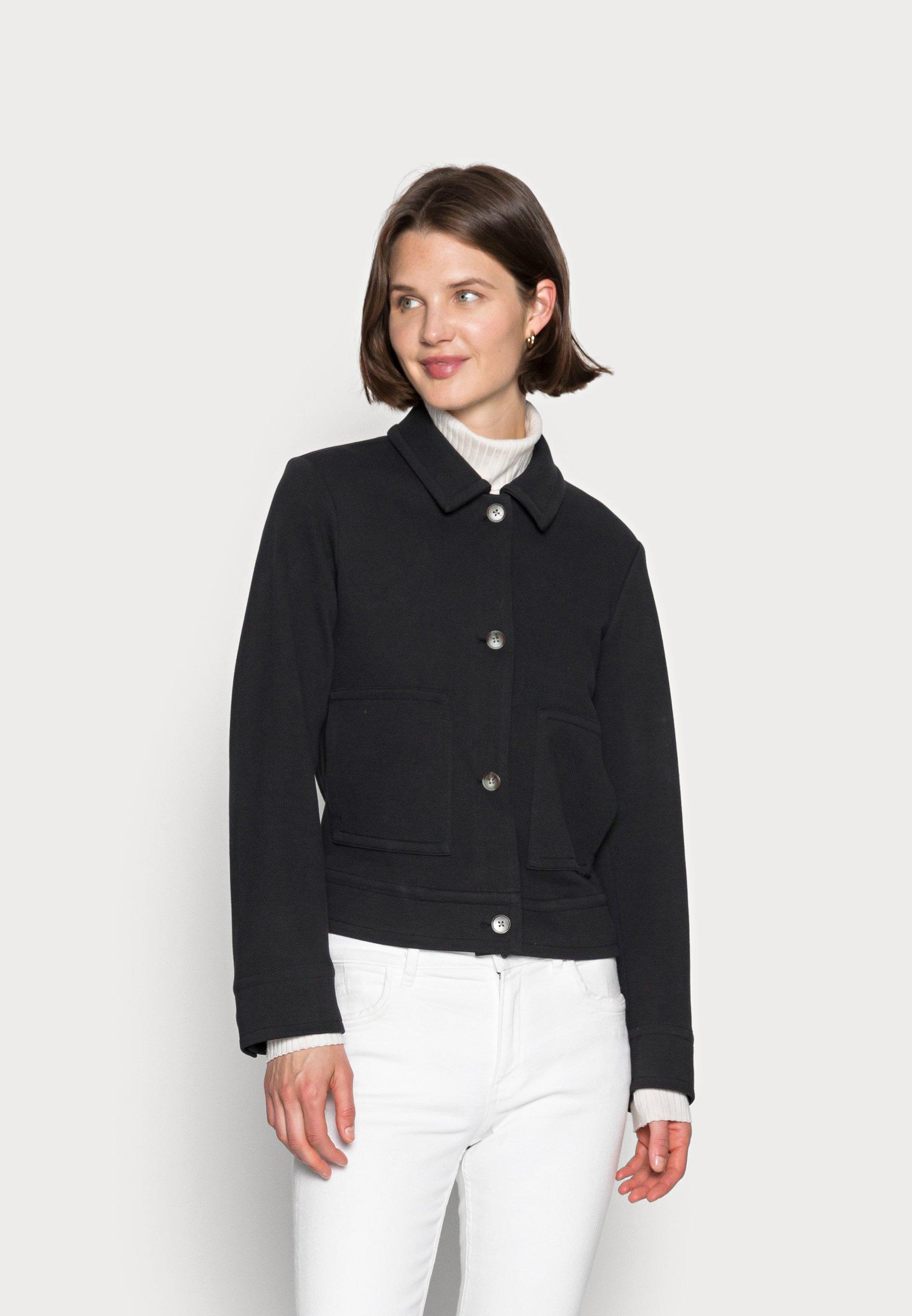 Women JACKETS BOXY TWILL - Summer jacket