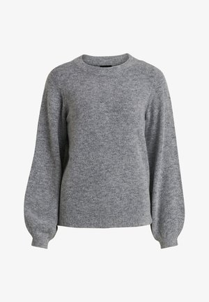 OBJEVE NONSIA - Strickpullover - light grey