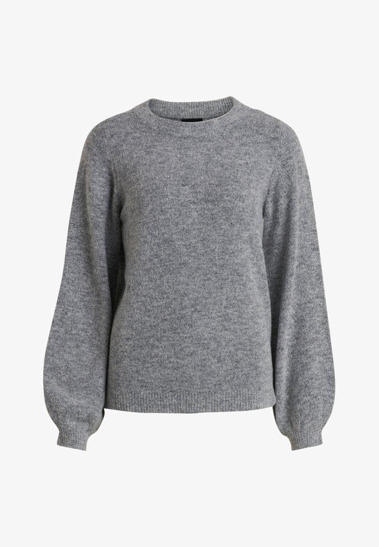 Object Strickpullover - light grey/hellgrau iQUUxD