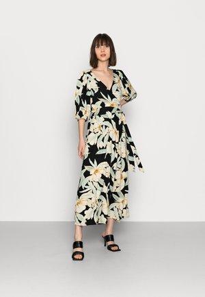 DRESS LINNEA - Korte jurk - black