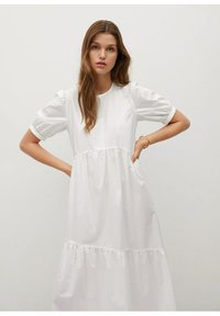 Mango - MED VOLANG - Day dress - offwhite - 2