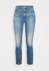 GAP - CIGARETTE KADUNA - Jeans straight leg - dark-blue denim - 4
