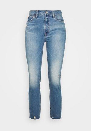 CIGARETTE KADUNA - Straight leg jeans - dark-blue denim