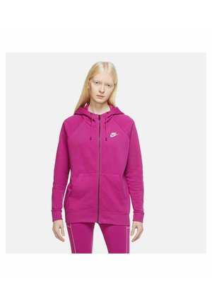 Zip-up hoodie - lila
