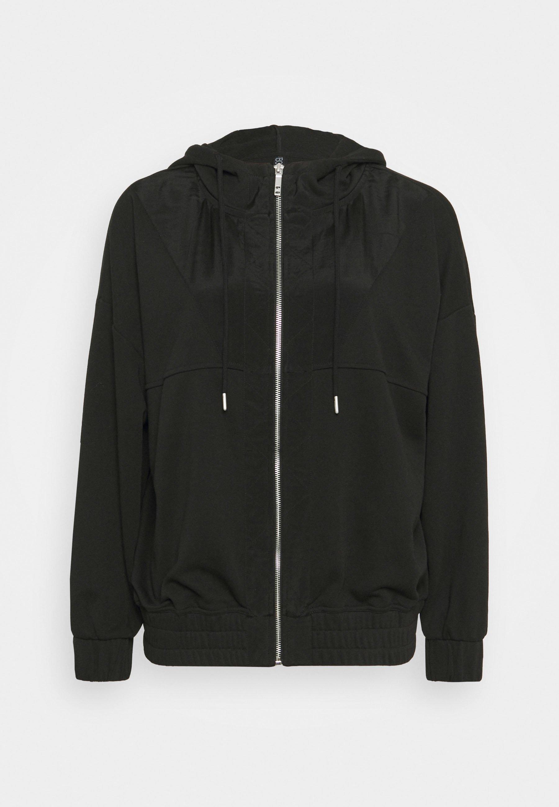 Women PANELLED ZIP THROUGH HOODIE - Zip-up sweatshirt