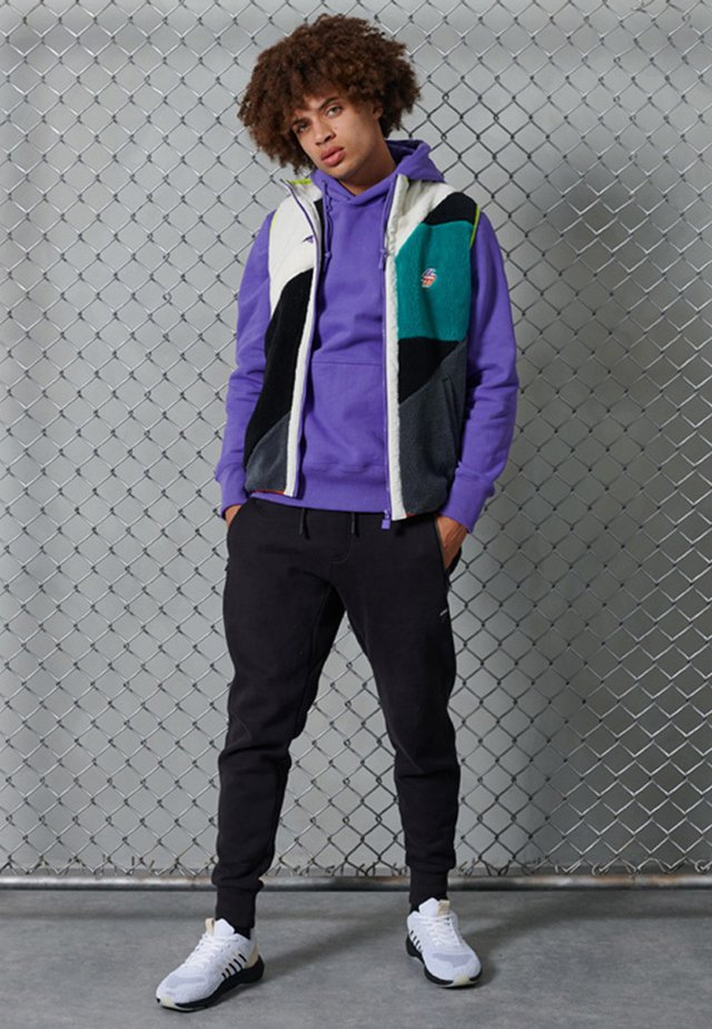 BRUSHED - Sweatshirt - purple opulence