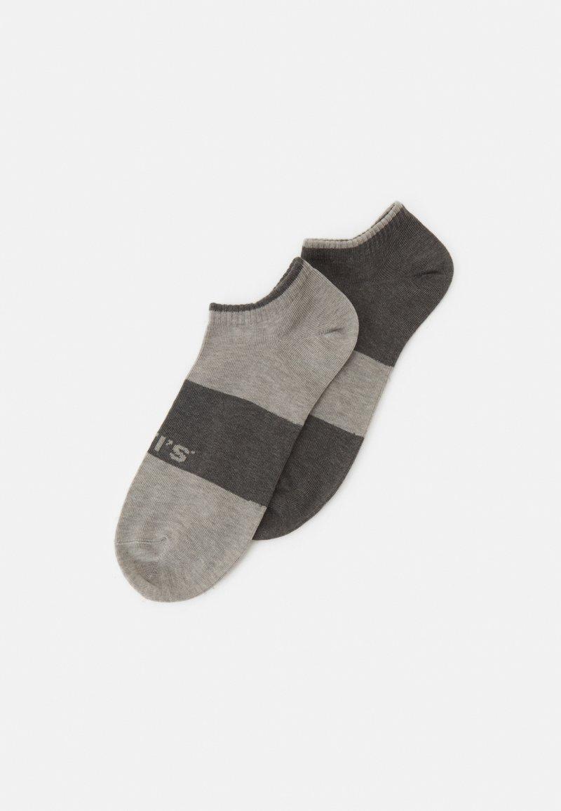 Levi's® - LOW CUT 2 PACK UNISEX - Socks - grey combo