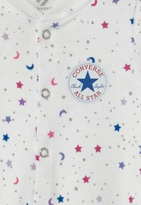 Converse - FOOTED COVERALL RUFFLE FOOT - Pyjamas - white - 2