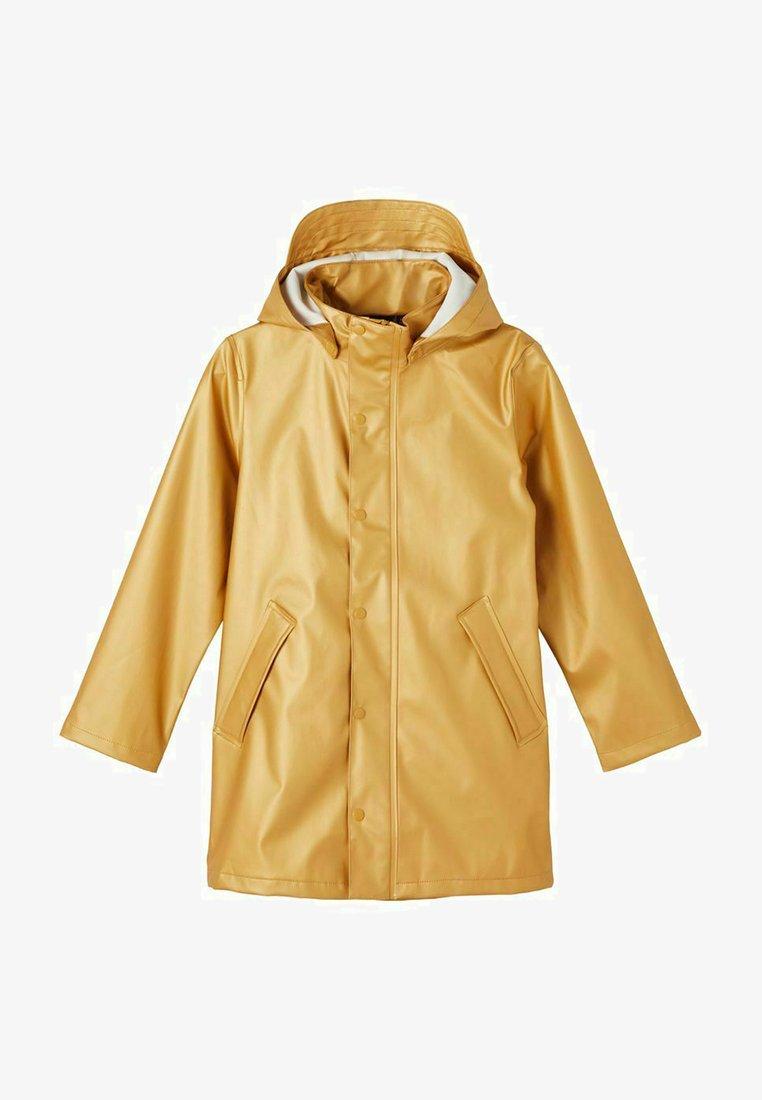 Name it - Waterproof jacket - pale gold