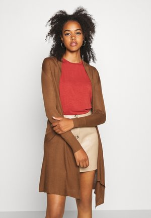 ONLALEXA LONG CARDIGAN - Cardigan - toffee