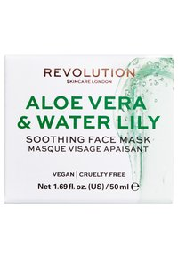 Revolution Skincare - REVOLUTION SKINCARE ALOE VERA & WATER-LILY SOOTHING FACE MASK - Masque visage - - - 2