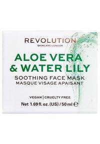 Revolution Skincare - REVOLUTION SKINCARE ALOE VERA & WATER LILY SOOTHING FACE MASK - Gesichtsmaske - - - 2
