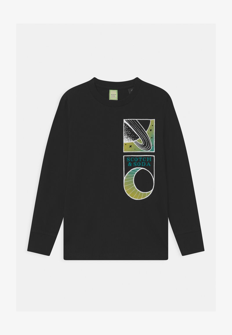 Scotch & Soda - ARTWORKS - Long sleeved top - black