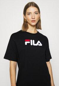 Fila - SATINKA TEE DRESS - Jersey dress - black - 5
