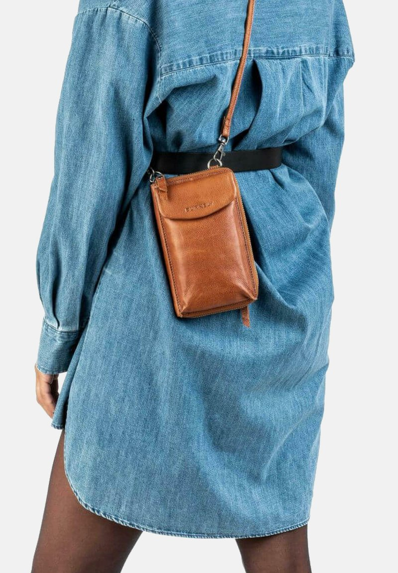 Burkely - Across body bag - cognac