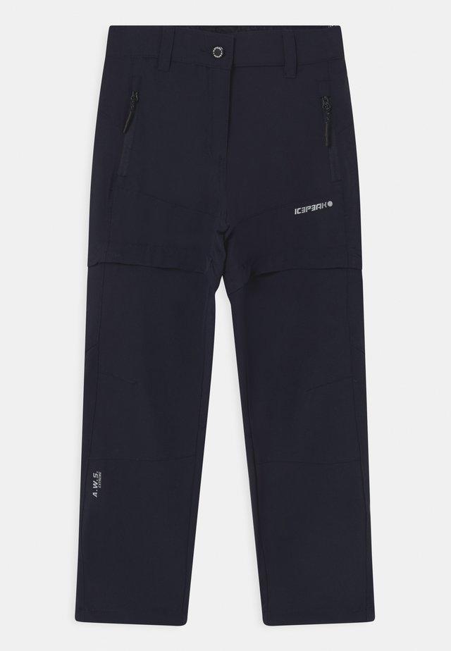 KANO 2-IN-1 UNISEX - Pantaloni outdoor - dark blue