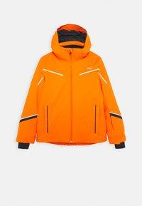 Kjus - BOYS FORMULA JACKET - Ski jacket - orange - 0