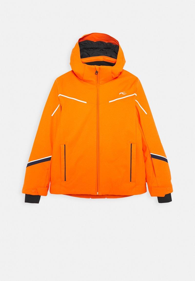 Kjus - BOYS FORMULA JACKET - Ski jacket - orange