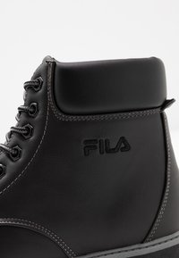 Fila - MAVERICK - Lace-up ankle boots - black - 2