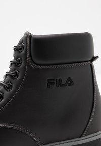Fila - MAVERICK - Snørestøvletter - black - 2