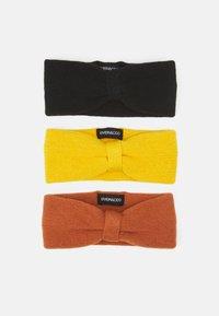 black/yellow/orange