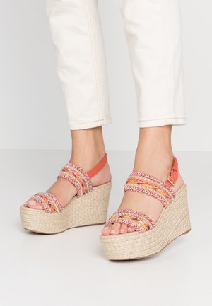 PRIRASA - Sandály na vysokém podpatku - other pink