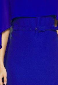 Pedro del Hierro - TUNIC DRESS - Cocktailjurk - dark blue - 6