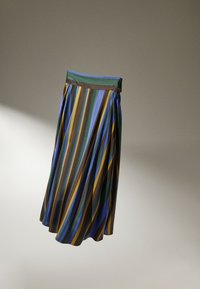 Massimo Dutti - Maxi skirt - light blue - 2